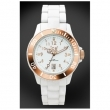 Часовник ICE WATCH ROSE GOLD White Plastic Unisex