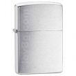 Запалка Zippo Brushed Silver Plate