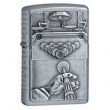 Запалка Zippo Pool Player Emblem Street Chrome