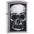 Запалка Zippo X-Ray Emblem High Polish Chrome