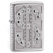 Запалка Zippo Bling Emblem High Polish Chrome