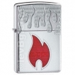 Запалка Zippo Inferno Armor High Polish Chrome