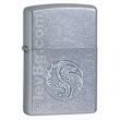 Запалка Zippo Raised Dragon Stamping Street Chrome