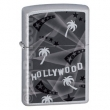Запалка Zippo Hollywood Palm Tree Satin Chrome