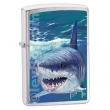 Запалка Zippo Guy Harvey Shark Brushed Chrome