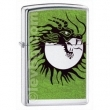 Запалка Zippo Moon Slayer High Polish Chrome