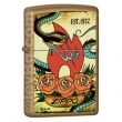 Запалка Zippo Tattoo Honey Gold