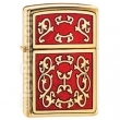 Запалка Zippo Imperial Filigree Emblem High Polish Brass