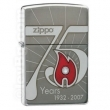 Запалка Zippo 75th Anniversary Limited Collectible Полиран Хром